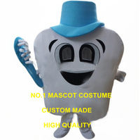 Healthy Tooth Mascot Costume Dental care Theme Happy Tooth Anime Cosplay Costumes Advertising Mascotte fancy Dress Suit 2517