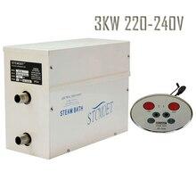Бесплатная доставка 3kw 220-240 В парогенератор с самые эффективные стоимость в сети жилых, быстрый ответ безопасный душевая