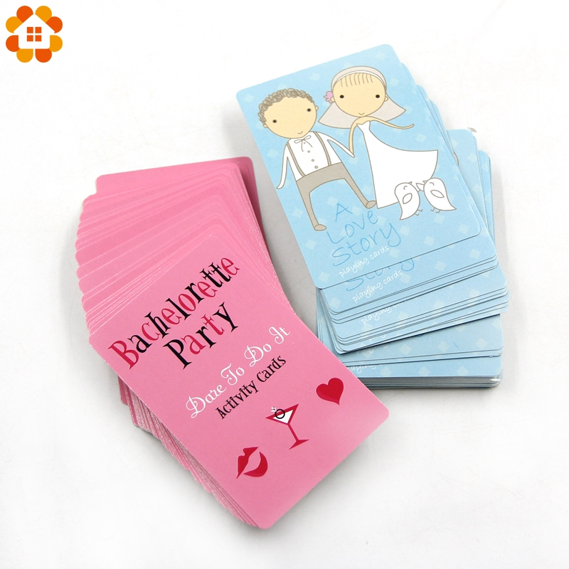 1Set Truth or Dare Activity Card Bride Groom Party Girl Out Night Games Hen Bachelorette Party Game Gathering Card Supplies