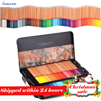 Марко 24/36/48/72/100 professional маслянистый цвет Карандаши цветные карандаши для цветной набор карандашей для рисования товары для рукоделия