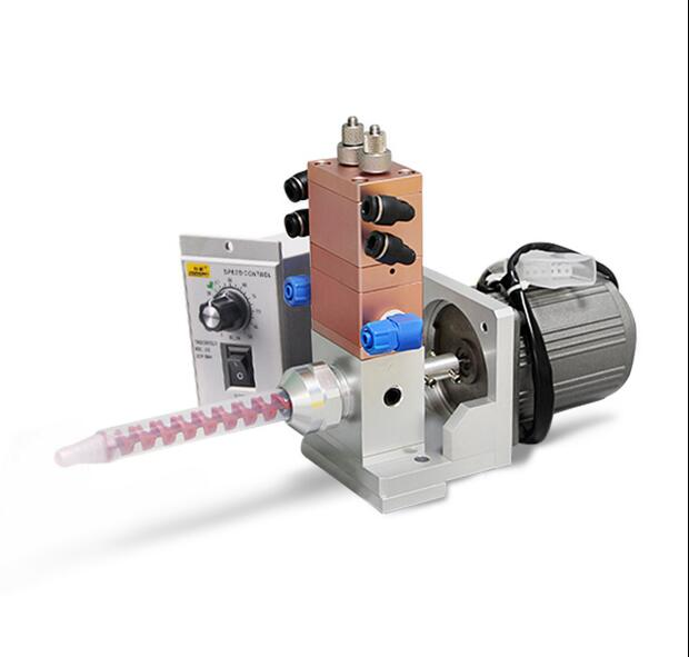 Electric stirring ab double liquid dispensing valve with dynamic mixing tuber mixerTool Parts   -