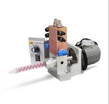 Soupape de distribution de liquide ab à agitation électrique avec mélangeur de tubercules à mélange dynamique