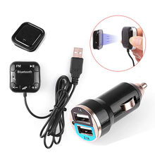 Car Kit BT-760 Bluetooth Audio Receiver Hands-free Car Kit for Music Talking Car Accessories