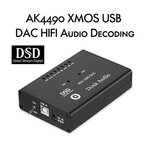 Image 2 - 미니 ak4490 xmos usb 오디오 디코더 dac hifi 헤드폰 앰프 spdif dsd256 5 v 데스크탑 앰프