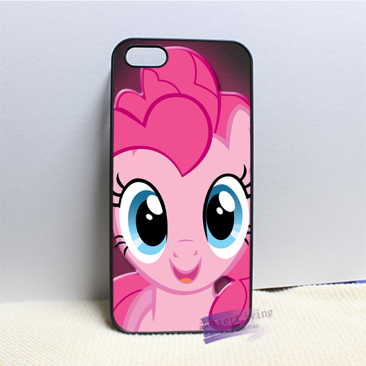 My Little Pony pinkie pie face 4 fashion cell phone case cover for iphone 4 4s 5 5s 5c SE 6 6s plus 7 plus #N9586