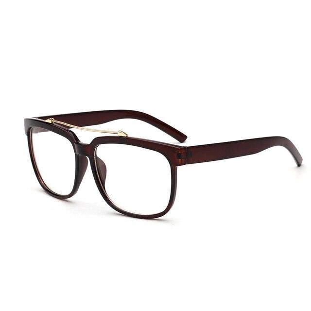 fd52d3a5b9cf Korean Retro Light Glasses Men Women General Arrow Large flat Mirror Glasses  Leopard Round Square Frame Eyeglasses Frames 0040