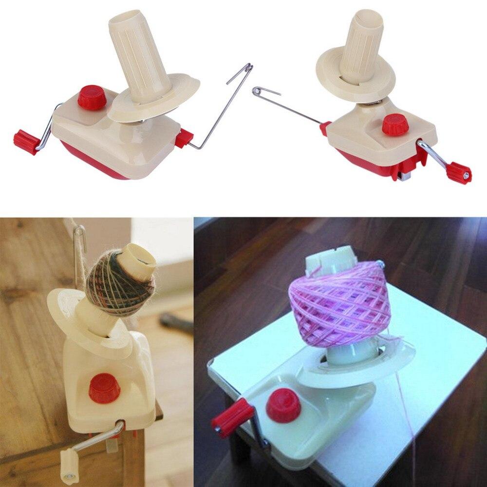 Sdfc portable hand-operated Hilado Winder lana cadena Hilos madeja máquina herramienta