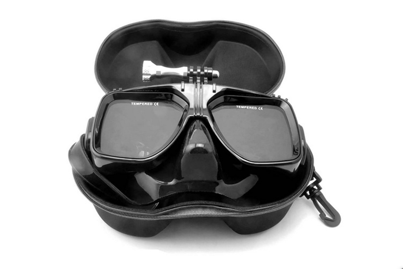 Gopro waterproof Accessories Underwater Glass Diving Mask for Go Pro Hero camera hero session 4 3
