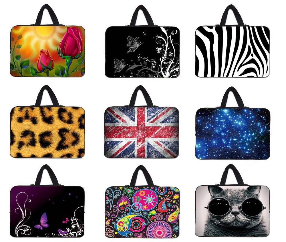 10 12 13 15 inch laptop bag notebook case 15.6 tablet sleeve case for macbook pro/air /surface pro 3/sony vaio/lenovo laptop/hp