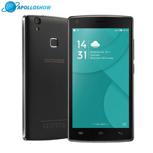 DOOGEE X5 Max mobile phones fingerprint 4000mAH 5.0InchHD 1GB+8GB smart phone MT6580 Quad Core Android 6.0 Dual SIM cellphone