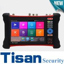 New 1920*1200 Retina Touch screen Analog AHD CVI TVI SDI IP camera tester 6 in 1 cctv test monitor H.265 4K cctv tester
