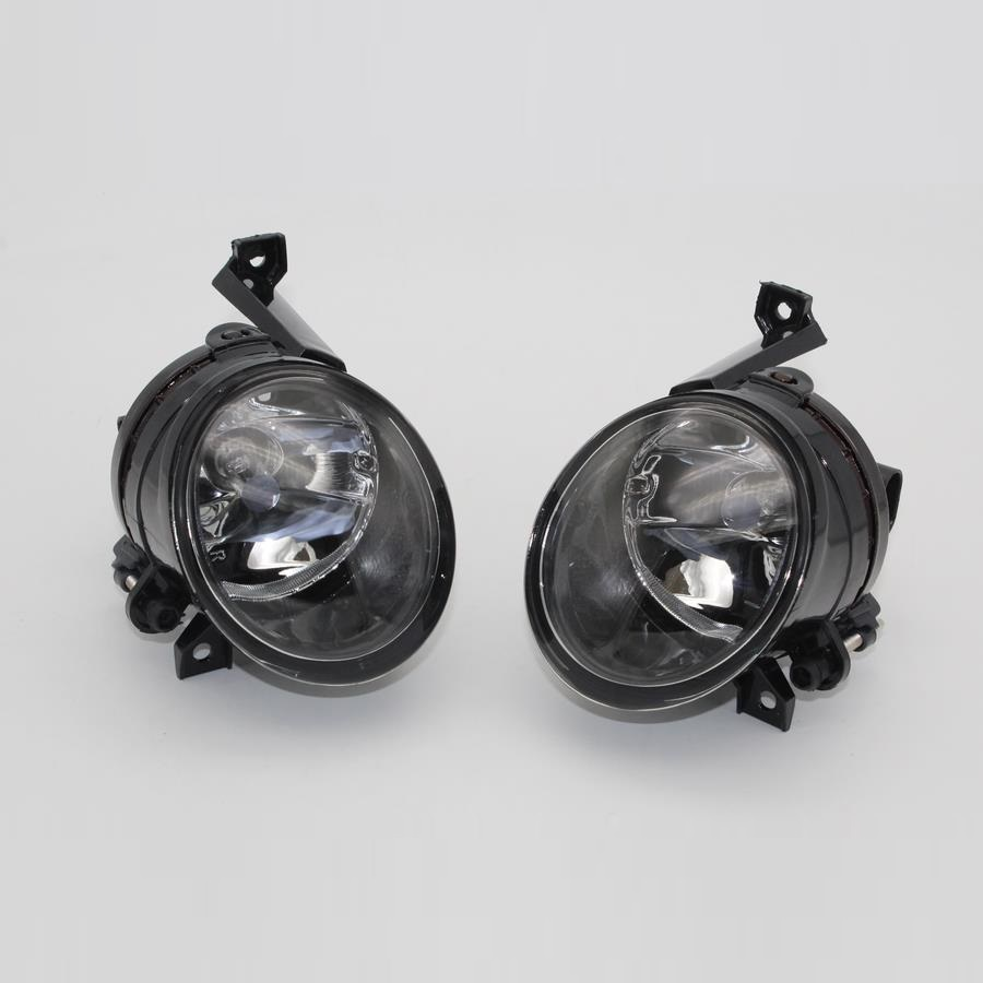 2pc Car Light For VW Tiguan 2007 2008 2009 2010 2011 Car-Styling Front Halogen Fog Light Fog Lamp Assembly front fog lights for nissan qashqai 2007 2008 2009 2010 2011 2012 2013 auto bumper lamp h11 halogen car styling light bulb