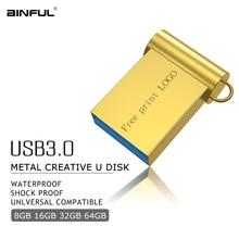New Usb Flash Drive 32GB Super Mini Metal Pen Drive 16GB 4GB 8GB 64GB 128GB Flash Disk Usb 3.0 High Speed Pendrive Thumbdrives genuine tongfang super speed usb 3 0 flash jump drive 8gb