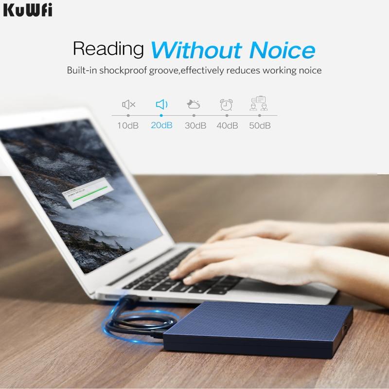 KUWFI USB Optical Drive External 2.0 CD/DVD-ROM Combo DVD RW ROM Burner for Dell Lenovo Laptop Windows/Mac OS