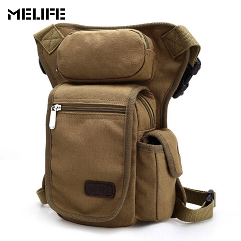 MELIFE Men Military Leg Bag Travel Motorcycle Riding Sport pack Outdoor trainning bags Multifunction Pack for Unisex Daily Use