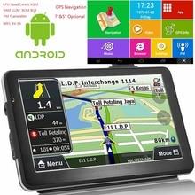 "KMDRIVE 5 ""7"" بوصة أندرويد رباعية النواة 16GB سيارة لتحديد المواقع والملاحة Sat Na AV IN بلوتوث واي فاي FM الارسال حزمة خرائط مجانية"