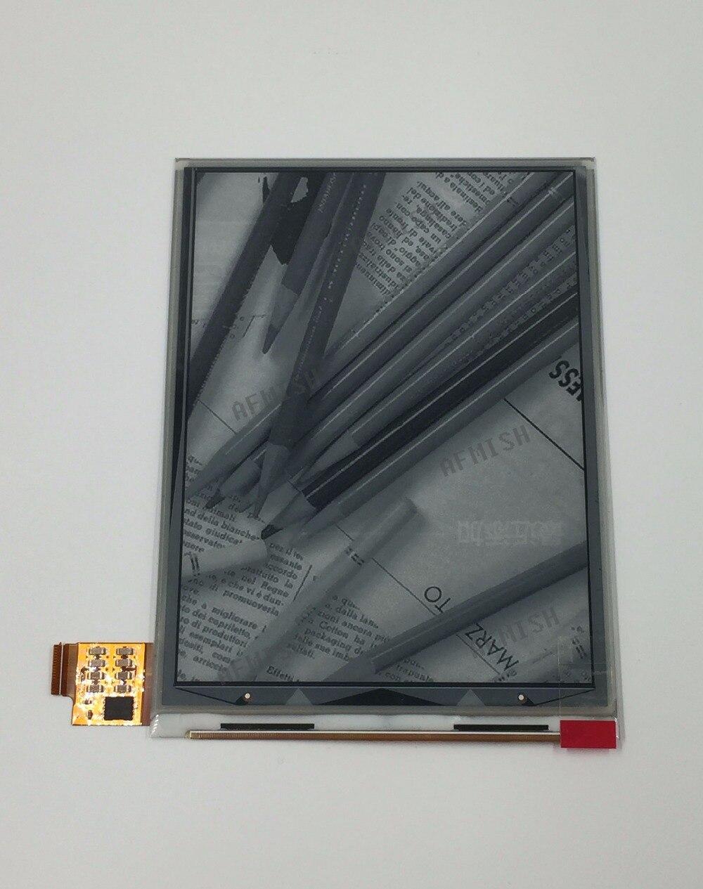 Tinta electrónica de 6 pulgadas para lectores de libros electrónicos, pantalla LCD de 6 pulgadas, sin retroiluminación y táctil, ED060XC8 100%, nuevo, envío gratis