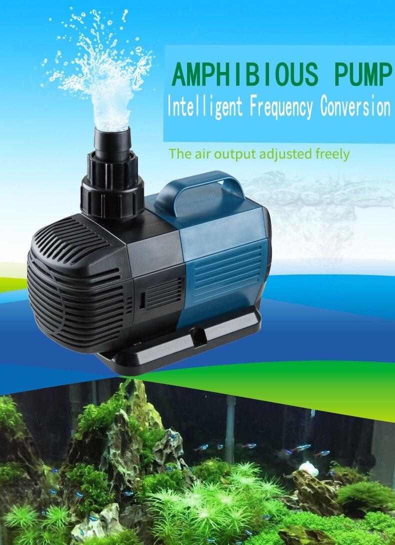 Pompe à eau à fréquence Variable intelligente de BO-6000High-power de SOBO pour la pompe Submersible de Filtration de circulation d'étang de poissons d'aquarium