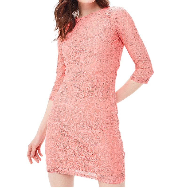 Dresses MODIS M181W00757 women dress cotton  clothes apparel casual for female TmallFS dresses dress befree for female long sleeve women clothes apparel casual spring 1811343565 15 tmallfs