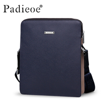 Padieoe Brand High  Quality Split Leather Men Bag Casual Small Male Crossbody Shoulder Messenger Bags