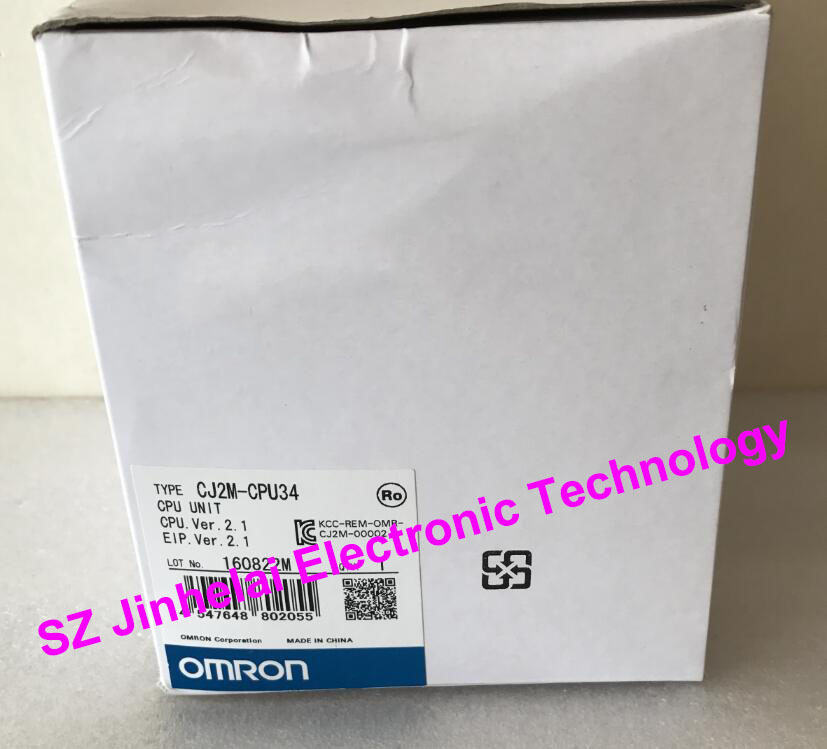 все цены на New and original OMRON  CJ2M-CPU34  CPU UNIT онлайн