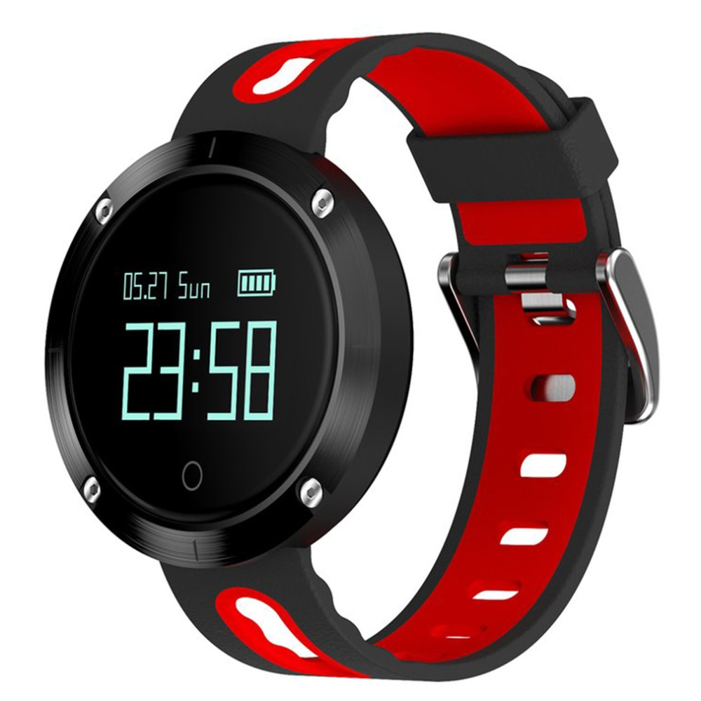 DM58 Bluetooth Sports Wristband Heart Rate Smart Watch Blood Pressure Monitor IP68 Waterproof For Android And IOS Phone