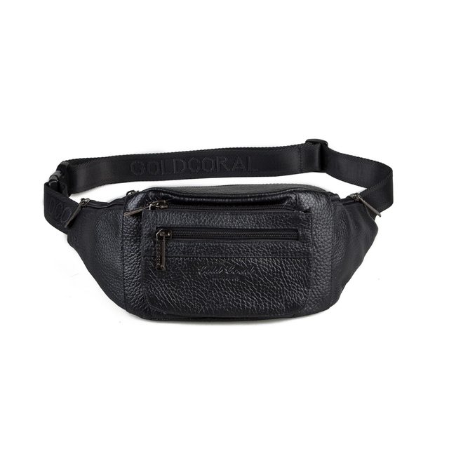 2015 new style fashion waist bags for men casual genuine leather travel male shoulder bags waist packs with high quality