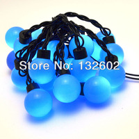 220V 5M 20 LED Bulbs Single Colour LED String Light For Garden Party Xmas Holidays Decaration
