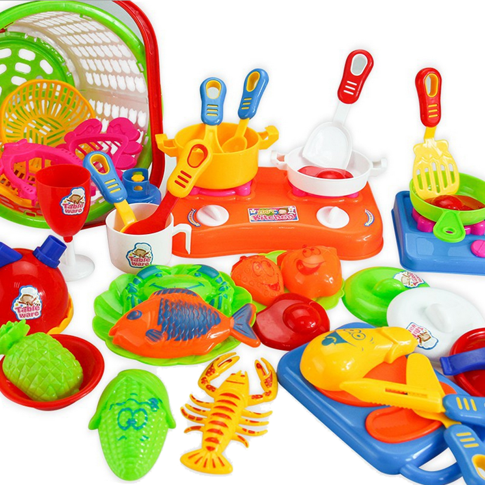 35pcs Kitchen Toy Plastic Kids Children Kitchen Utensils Food Cooking  Pretend Play Set Toy Kitchen In Kitchen Toys From Toys U0026 Hobbies On  Aliexpress.com ...