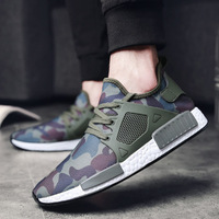 Outdoor Military Camouflage Walking Men sneaker Shoes 2018 Spring brand sport Army Green High Quality Non slip running shoes