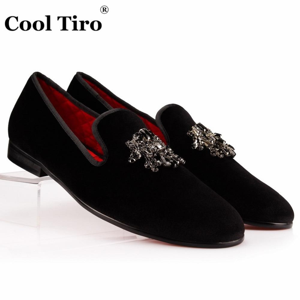 Black Tassel Slipper Shoes