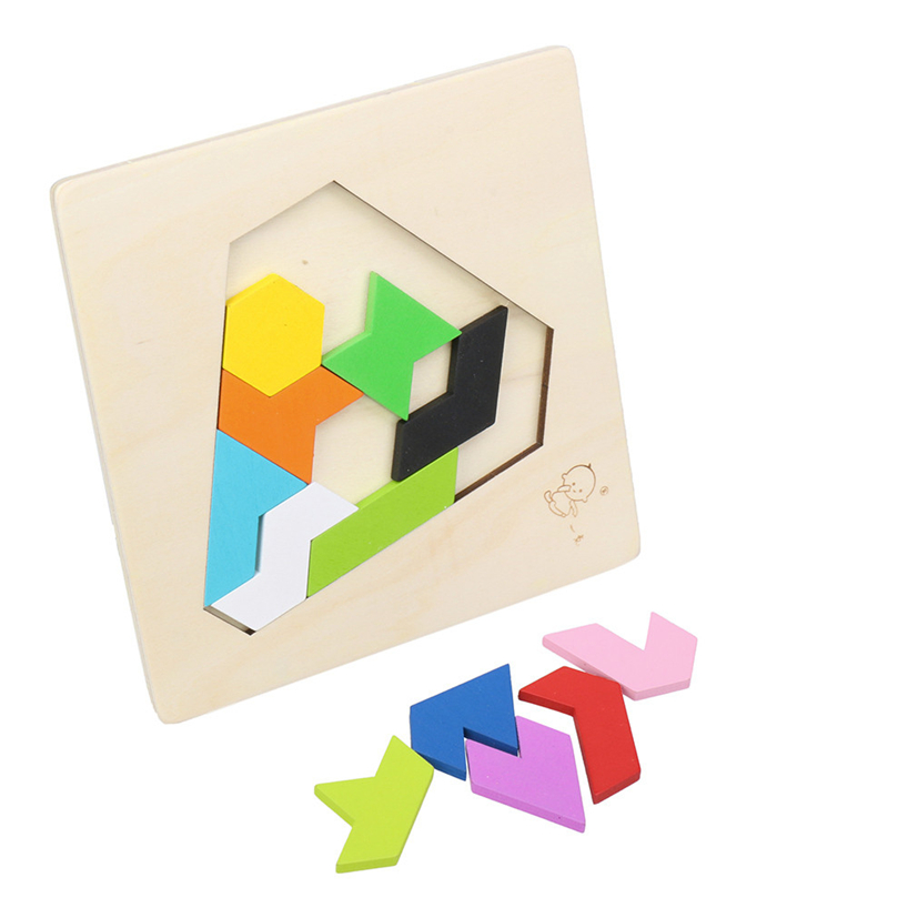 Детские головоломки разведки детские деревянные обучения Развивающие игрушки алмазные пазл RE3