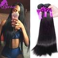 8a Indain virgin hair Straight, 4pcs Indian remy hair extension, unprocessed Indian hair bundles cheap human hair weave online