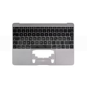 Image 2 - Macbook 12 a1534 독일 독일 독일 키보드 탑 케이스 탑 케이스 골드/그레이 그레이/실버/로즈 골드 컬러 2015 2017