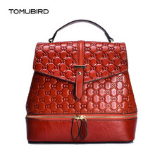 2020 New women bag genuine leather brands top quality cowhide r women bags  genuine leather tote women leather backpack