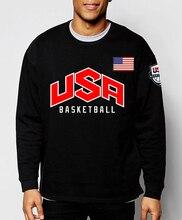 O-Neck Basketball Men Sweatshirts