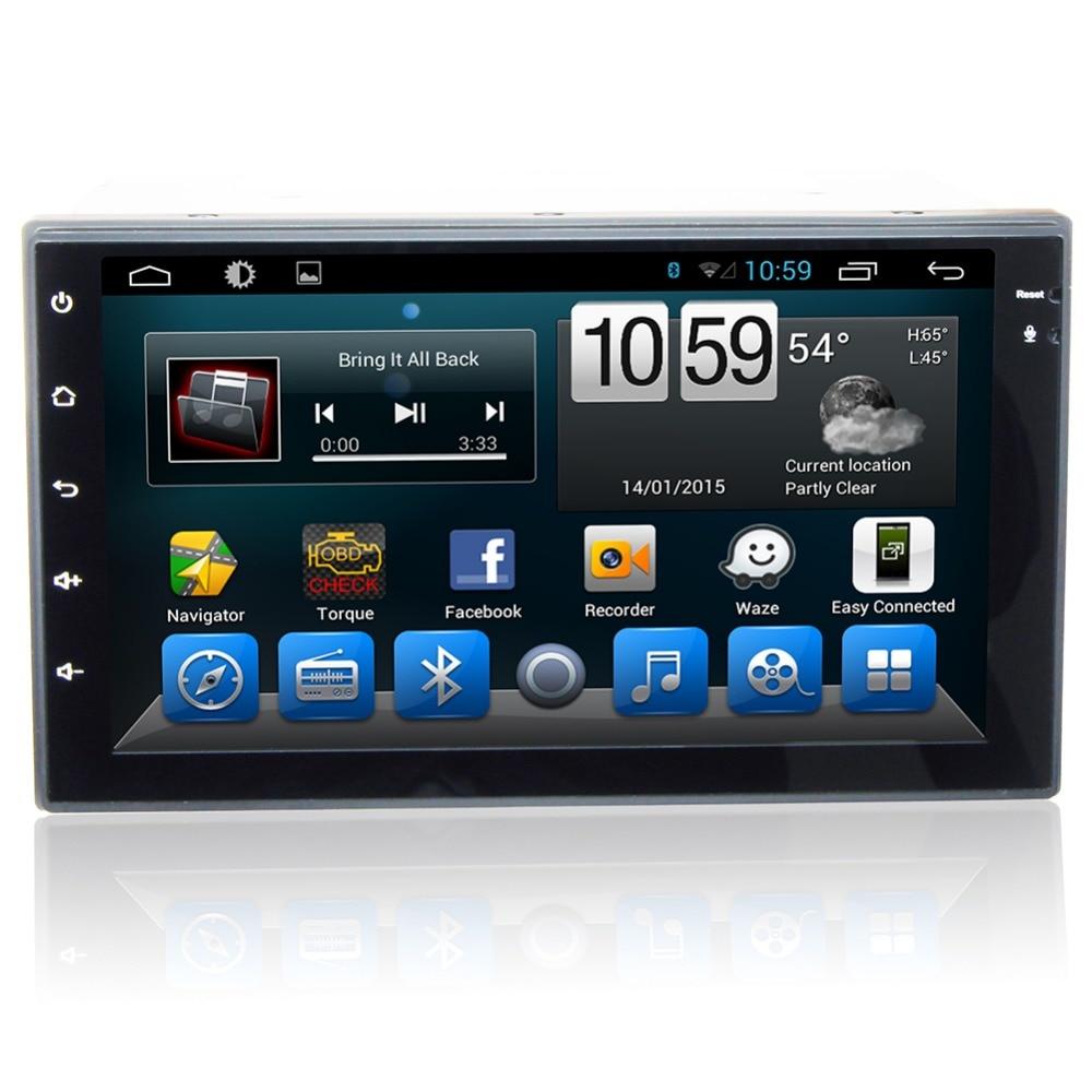 "Cheap 7"" HD  Quad Core Android 6.0 2 Two Din Universal Car DVD Radio GPS Stereo Navigation Playe for old Nissan Hyundai Kia 1"