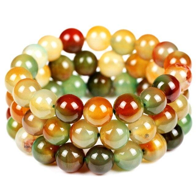 Green Malachite beads bracelet Quartz Stone Natural stones bracelet Fashion jewelry wholesale