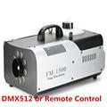 1500 W RGB 3in1 (6 pcs/9 pcs LED) macchina del fumo A Distanza o di Controllo del Filo/DMX512 Fase Macchina del Fumo
