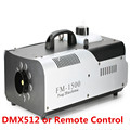 1500 W RGB 3in1 (6 pcs/9 pcs LED) rookmachine Afstandsbediening of Draad Control/DMX512 Stage Fog Machine
