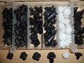 Conjunto de grampo auto fixador plástico, fixador automotivo, de pára-choques, cobertura de pára-choques, painéis, porta, automobilístico universal, fixadores automobilísticos para carros