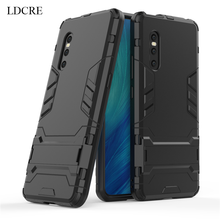 LDCRE For Vivo X27 Case Luxury Robot Hard Back Coque Fundas Phone Cover