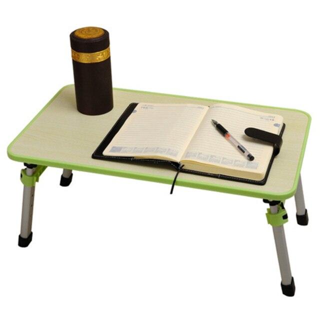 Carrito plegable portátil cama escritorio comter, mesa portátil para ...