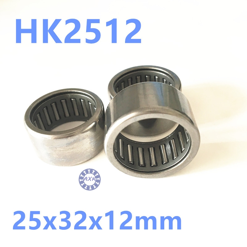 HK253212 HK2512 27941/25 Drawn Cup Type Needle Roller Bearing 25x32x12mm free shipping high quality 1pc hk303824 7942 30 drawn cup type needle roller bearing 30x38x24mm