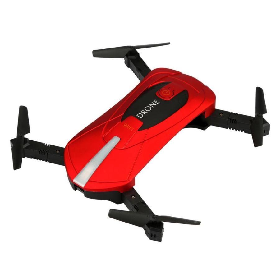 JY018 WiFi FPV Quadcopter Mini Dron Foldable Selfie Drone RC Drones With 720P HD Camera #50 jjrc h38wh dron selfie drones with camera hd fpv wide angle quadrocopter rc helicopter quadcopter helicoptero de controle remoto