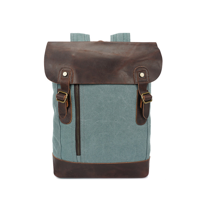 Backpack Leather Military Canvas Backpack Backpack School Backpack School Bag Bagpack Rucksack