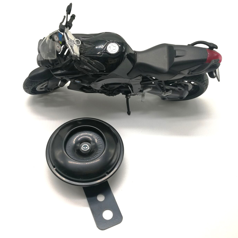 2019 High Quality 105db Motorcycle Monophonic Horn Scooter Bracket for Motorcycle Electric Bike Black-in Motorcycle Horns from Automobiles & Motorcycles