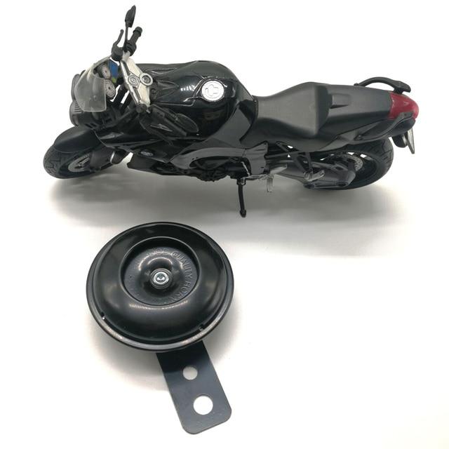 2020 คุณภาพสูง 105dB รถจักรยานยนต์โมโนโฟนิก Horn สกูตเตอร์ Bracket สำหรับรถจักรยานยนต์ไฟฟ้าจักรยานสีดำ