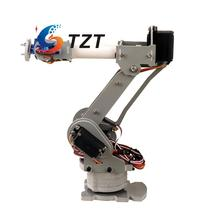ABB 6DOF Industrial Robot Mechanical Arm Alloy Robotics Arm Rack with Servos for Arduino Assembled