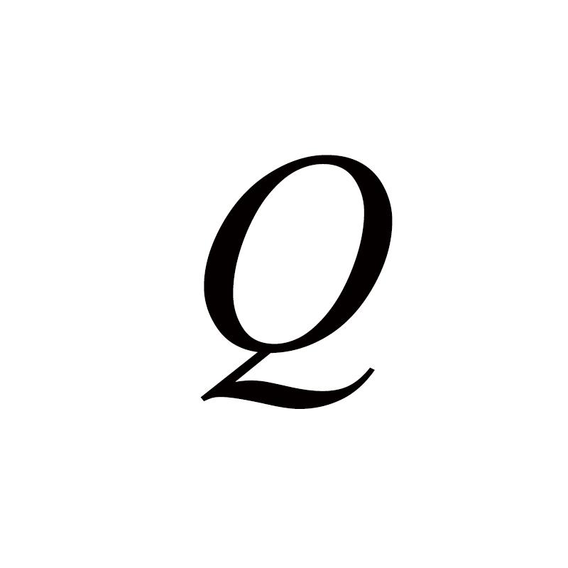 Персонализированные ручные штампованные A-Z, 26 букв, начальные крошечные кольца в виде сердца для женщин, золотые кольца на палец, ювелирные изделия - Цвет основного камня: Q